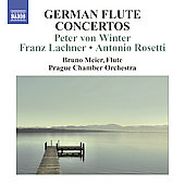 German Flute Concertos - Winter, Lachner, Rosetti / Meier, Hradil, Prague Chamber Orchestra, et al