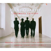 Intimate Letters - Brahms: String Quartet in A minor; Janacek: String Quartet no 2 / Heine Quartet