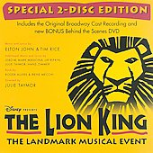 The Lion King On Broadway [Original Cast Recording] [Bonus behind the scenes DVD]