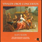 Vivaldi: Oboe Concertos: Alex Klein, oboe