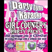 Karaoke: Party Tyme Karaoke: Girl Country Party Pack, Vol. 2
