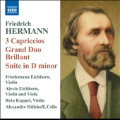 Friedrich Hermann: Virtuoso Works for 3 Violins
