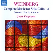 Weinberg: Complete Music for Solo Cello, Vol. 2