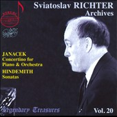 Sviatslav Richter Archives, Vol. 20