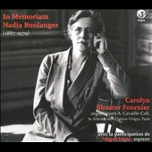 In Memoriam: Nadia Boulanger