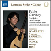 Scarlatti, T&#225;rrega, Ponce, Jos&#233;: works for guitar / Pablo Garibay, guitar