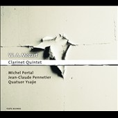 Mozart: Clarinet Quintet; Kegelstatt-Trio; Adagio & Fugue / Michel Portal, clarinet