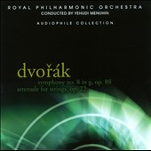 Dvorak: Symphony no 8; Serenade for Strings / Yehudi Menuhin - Royal PO