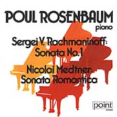 Rachmaninov, Medtner: Piano Sonatas / Poul Rosenbaum