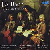 Bach: Flute Sonatas / Preston, Pinnock, Savall