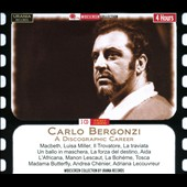 Carlo Bergonzi: A Discographic Career - Selections from Macbeth, Luisa Miller, Il Trovatore, La Traviata, Un Ballo,  Tosca, Andrea Chenier et al.