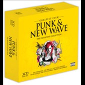 Various Artists: Greatest Ever! Punk & New Wave: The Definitive Collection [Box] [PA]