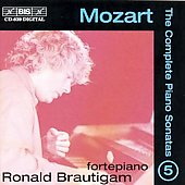 Mozart: The Complete Piano Sonatas Vol 5 / Ronald Brautigam