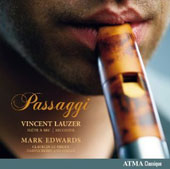 Dario Castello (1590-c. 1658): Passagi / Vincent Lauzer, recorder; Mark Edwards, harpsichord & organ