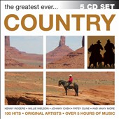 Various Artists: The Greatest Ever: Country [Box]