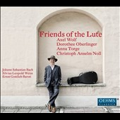 Friends of the Lute - Music of Bach, Weiss & Baron / Axel Wolf, Dorothee Oberlinger, Anna Torge