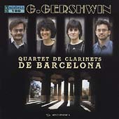 Gershwin: 13 Songs / Barcelona Clarinet Quartet