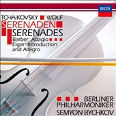 Tchaikovsky, Wolf: Serenaden; Barber: Adagio; Elgar: Introduction and Allegro [SHM-CD]