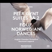 Edvard Grieg: Peer Gynt Suites 1 & 2; Four Norwegian Dances / English Chamber Orch., Raymond Leppard