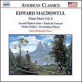 American Classics - MacDowell: Piano Music Vol 4 /Barbagallo