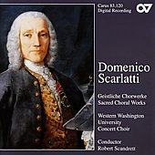 D. Scarlatti: Sacred Choral Works / Robert Scandrett