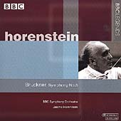 Bruckner: Symphony no 5 / Jascha Horenstein, BBC Symphnoy