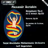 Scriabin: Symphony no 2, etc / Segerstam, Royal Stockholm PO