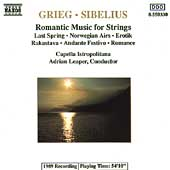 Grieg, Sibelius: Romantic Music for Strings / Leaper, et al