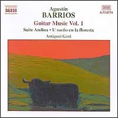 Barrios: Guitar Music Vol 1 / Antigoni Goni