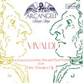 Vivaldi: Concertos from L'Estro Armonico / Arcangeli Baroque