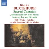 Buxtehude: Sacred Cantatas / White, Hill, Grindlay, Mallon