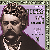 Glinka: Complete Songs and Romances Vol 1 / Evtodieva, et al