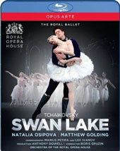 Tchaikovsky: Swan Lake / Natalia Osipova, Matthew Golding, Gary Avis. Orch. of the Royal Ballet, Boris Gruzin [Blu-ray]