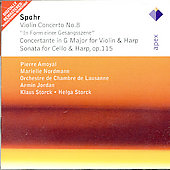 Spohr: Violin Concerto No.8, Symphonie Concertante, Sonata For Cello & Harp