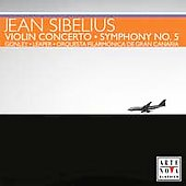 Sibelius: Violin Concerto, Symphony no 5 / Gonley, Leaper