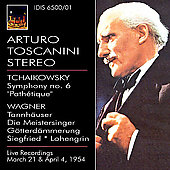 Tchaikovsky: Symphony no 6;  Wagner / Toscanini, NBC SO