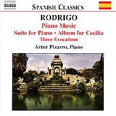 Spanish Classics - Rodrigo: Piano Music Vol 2 / Pizzaro