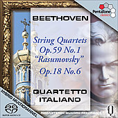 Beethoven: String Quartets no 6 & 7 / Quartetto Italiano