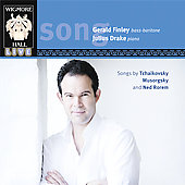 Mussorgsky: Songs and Dances of Death;  Rorem: Songs / Gerald Finley, Julius Drake