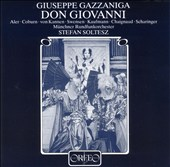 Giueppe Gazzaniga: Don Giovanni