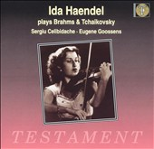 Ida Haendel: Brahms/Tchaikovsky: Violin Concertos