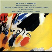 Schoenberg: Brettl-Lieder; Book of the Hanging Gardens, cycle of 15 songs Op15