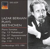 Lazar Berman Plays Beethoven