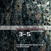 Henze: Symphonies 3-5 / Janowski - Berlin RSO