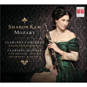 Mozart: Clarinet Concerto; Clarinet Quintet / Sharon Kam, basset clarinet