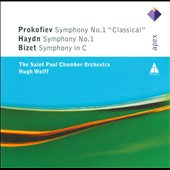 First Symphonies by Prokofiev, Haydn, Bizet / Hugh Wolff - St Paul CO