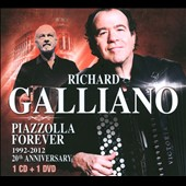 Richard Galliano: Piazzolla Forever: 1992-2012 20th Anniversary [Digipak]