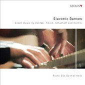 Slavonic Dances: Czech Music by Dvor&#225;k, Fibich, Schulhoff and Hurnik / Piano Duo Danhel-Kolb