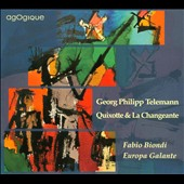 Georg Philipp Telemann: Quixotte & La Changeante / Fabio Biondi, Europa Galante