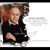 Mozart: Symphonies, Vol. 9 - nos. 31, 33 and 34 / Adam Fischer, Danish National Chamber Orchestra
